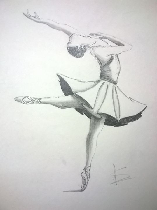 Ballerina_2 - Pencil Sketches