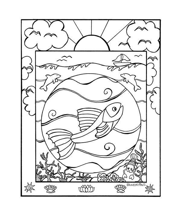Sun Fish - Sharon Hall