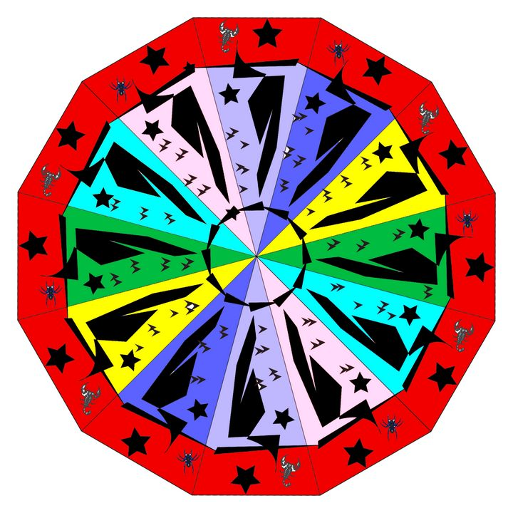Wheel of Color - Cathy Harper Photography and Designs