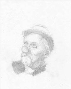 Sketch clown