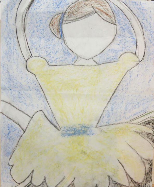 A Faceless Dancer - Emily's Art