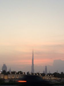 Sunset on Khalifa Tower