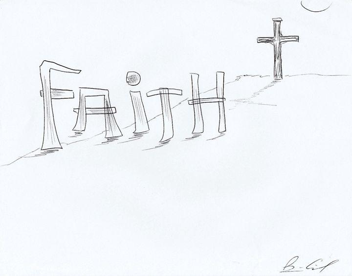 Faith - Surrealist Art by Brian Cirola