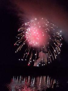 Reflecting fireworks