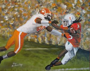Clemson vs Miami - Tom Breckenridge