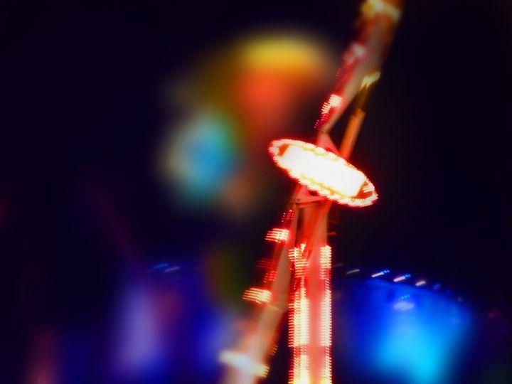 Fairground Sky - charles stuart