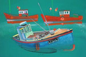 Fishing Boats At Walberswick