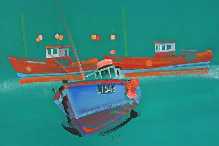 Boats On The Blyth - charles stuart
