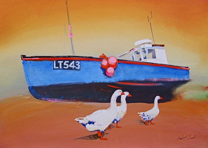 Low Tide Walberswick - charles stuart