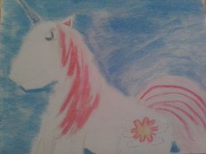 pink maine unicorn