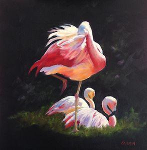 Flamingo Twist - Carmen Beecher