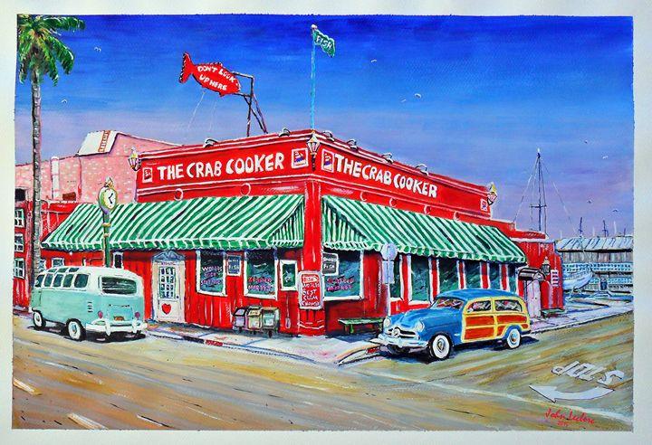 The Crab Cooker Newport Beach - ArtbyLeclerc