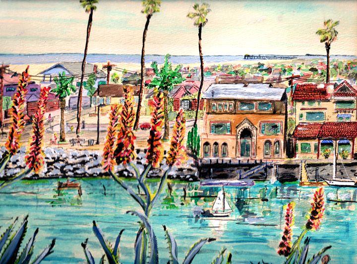 Newport Harbor CA. - ArtbyLeclerc