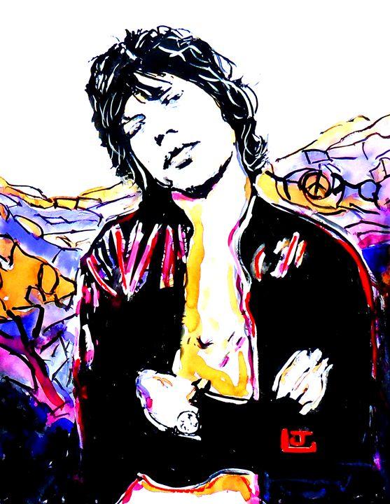 Sir Mick Jagger - ArtbyLeclerc