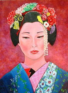 Elegant Geisha