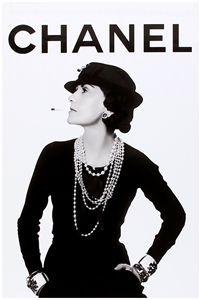 CHANEL Art Print ,Coco Chanel
