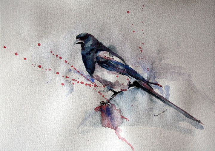 Magpie - FemArt Gallery
