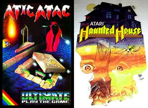 Atic Atac and haunted house