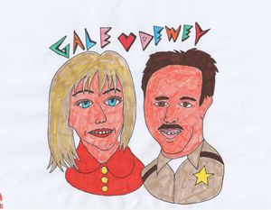 Gale and Dewey from Scream