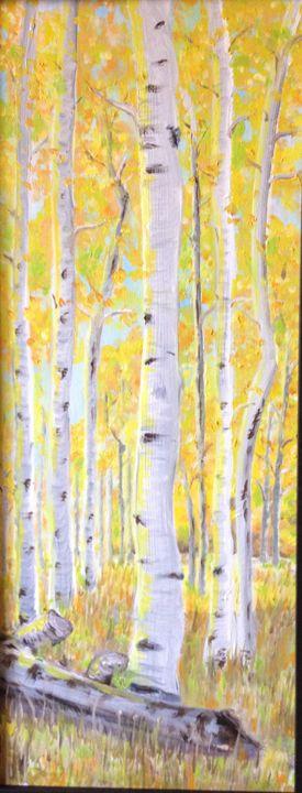 Fallen Leaf Lake Aspens - Cheryl Lawson, Artist