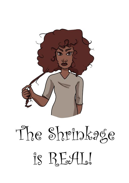 The Shrinkage is Real! - Poteet!
