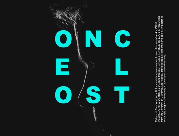 OnceLost Blue - Lasse Bergmann Grafik