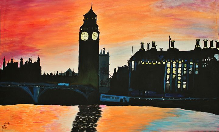 Big Ben - The Garden of Art