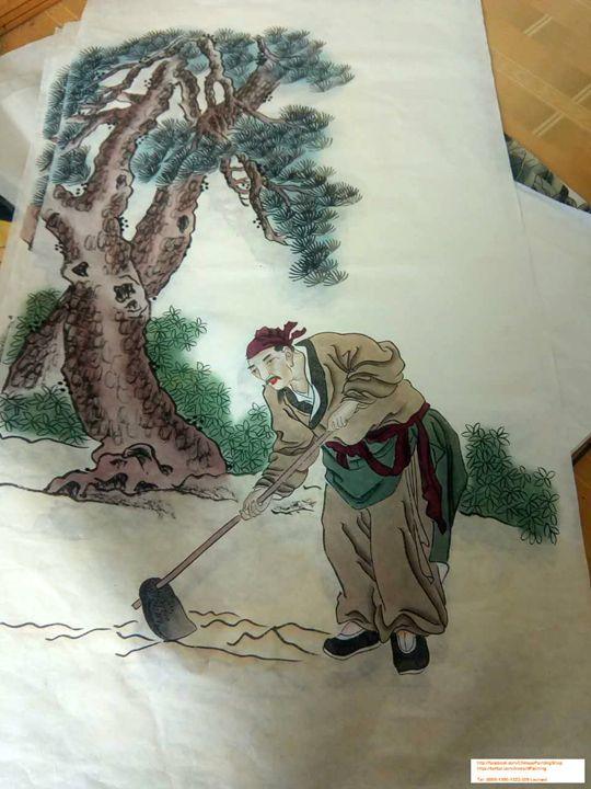 Original Chinese Painting 012 - Chinese Paintings