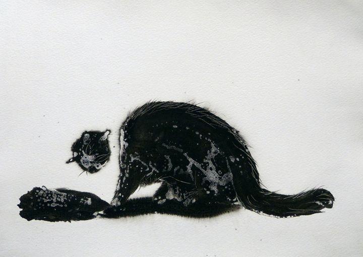 The black cat 1 - Frederic Belaubre