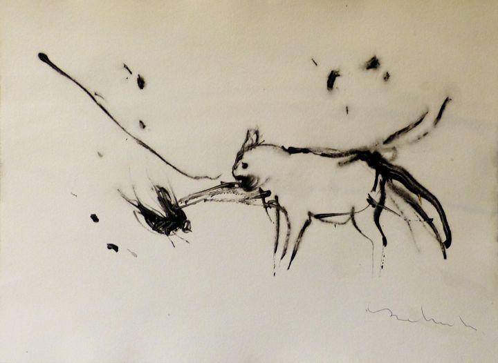 Cat and bird 1 - Frederic Belaubre