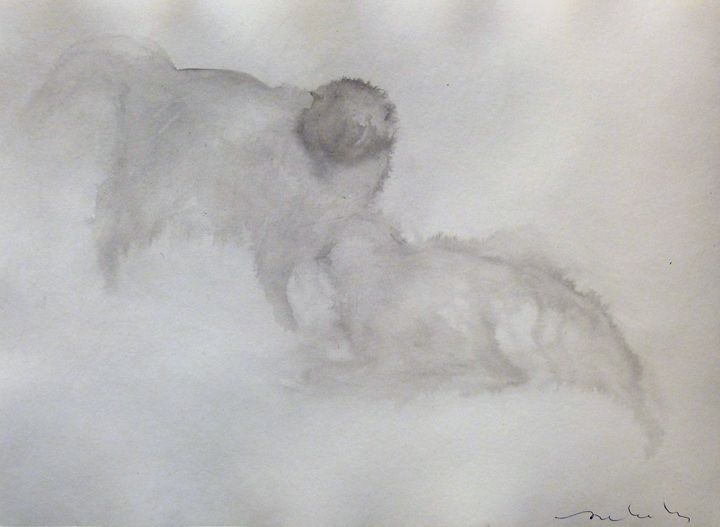 Two white cats - Frederic Belaubre
