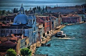 Venice seen from above - Artefaktura