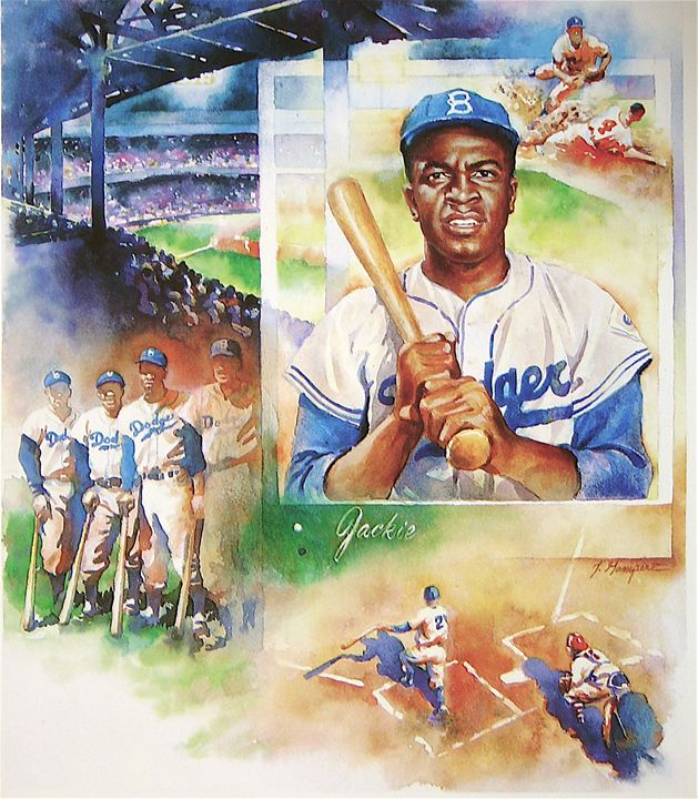 Jackie Robinson - JJ and Son Gallery