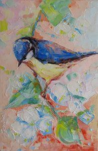 """ Bird "" - Halyna Luzhevska (Gairai)"