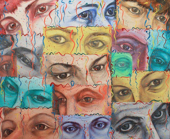 """""""Eyes"""" - Halyna Luzhevska (Gairai)"""