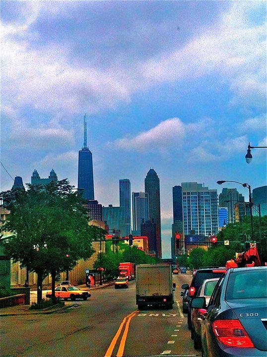 CHICAGO CITY COMMUTERS - Tirzah Fujii