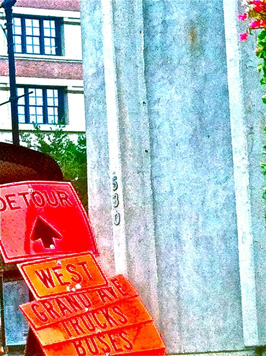 CITY SIGNS DETOUR - Tirzah Fujii