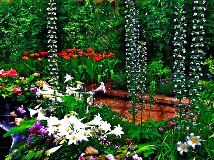 BLOOMING GARDEN PARADISE - Tirzah Fujii