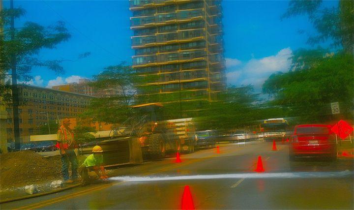 SHERIDAN RD. CONSTRUCTION - Tirzah Fujii