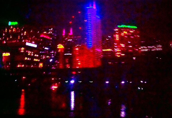 NEON CITY RIVER BRIDGE - Tirzah Fujii