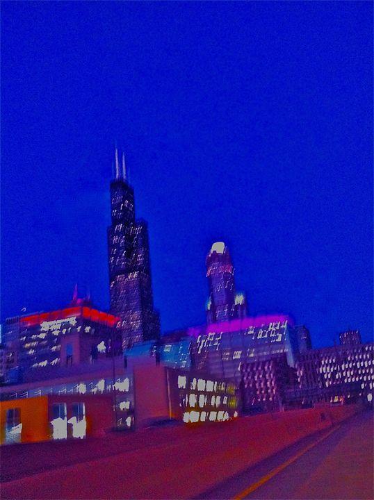 ELECTRIFIED CITY LIGHT SPEED - Tirzah Fujii