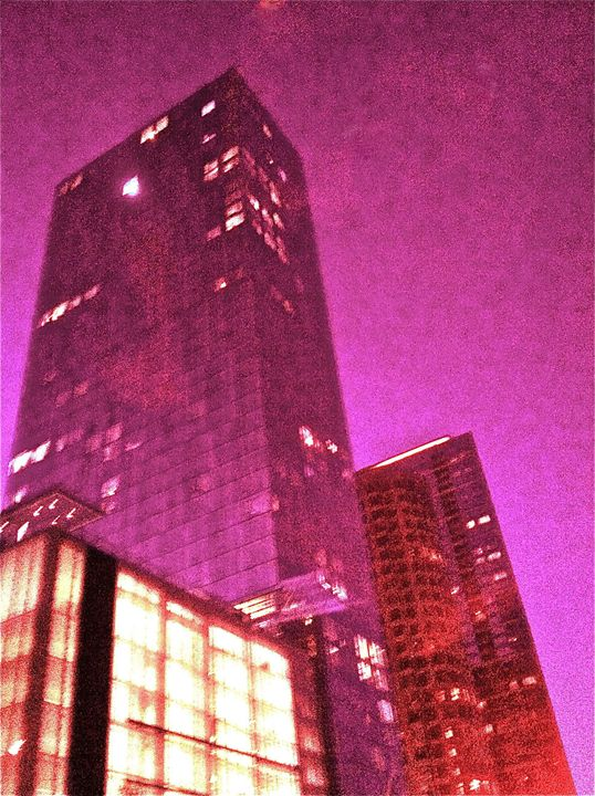 CITY PINK FOG - Tirzah Fujii