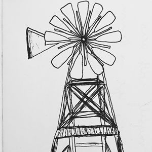 still windmill
