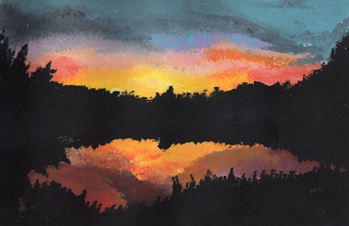 Sunset at Goldeneye - Stephanie
