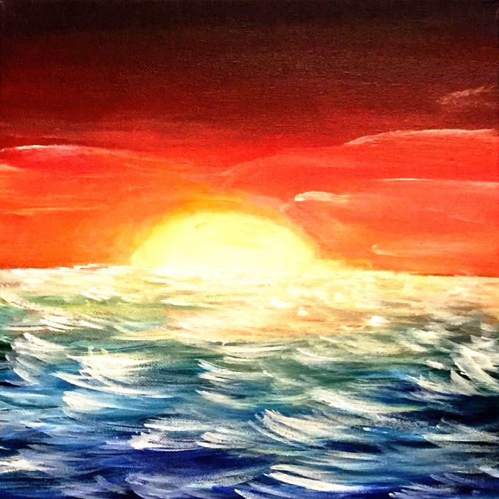 Sunset Wave - Chroma Galaxy