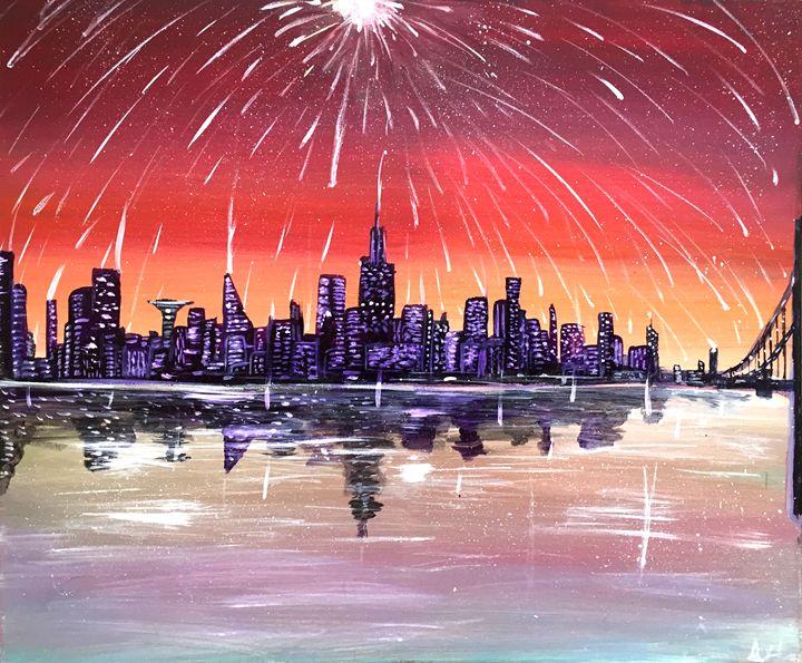 Starlight City - Chroma Galaxy