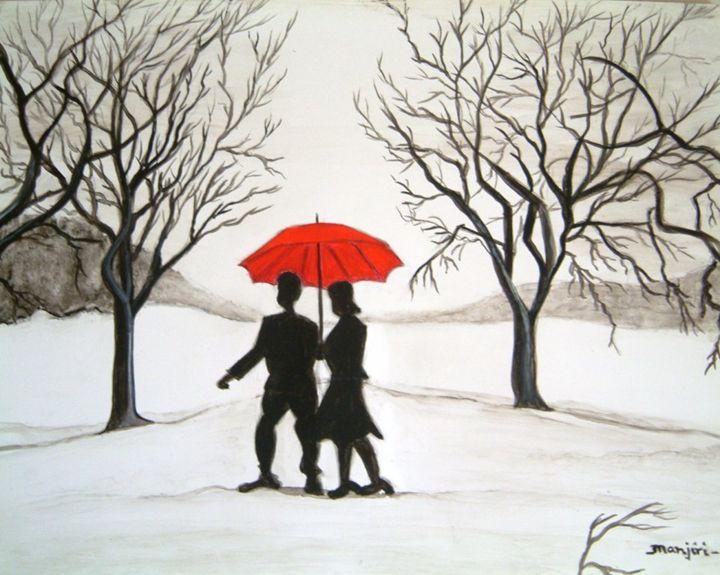 Winter Romance - artbymanjiri
