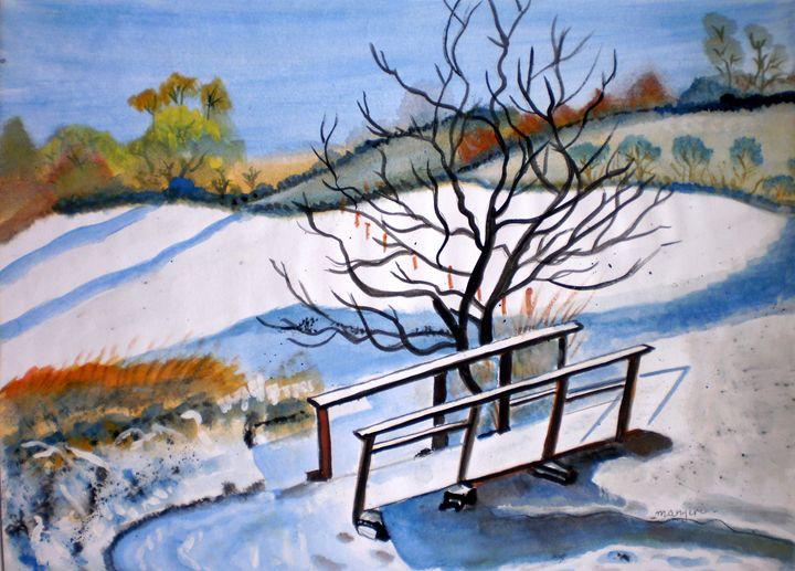 Christmas Morning - artbymanjiri