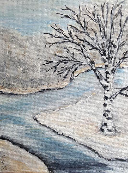 Winter birch - OlgaDVisualCreations