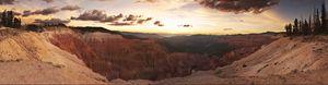 Sunset At Cedar Breaks